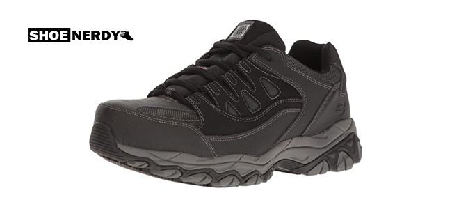 Skechers for Work Mens Holdredge Steel Toe Work Shoe