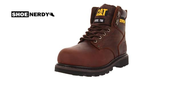 Caterpillar Men's Second Shift Steel Toe Boot