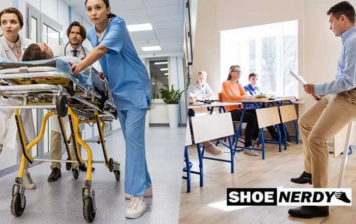 Best Shoes For Teachers And Nurses